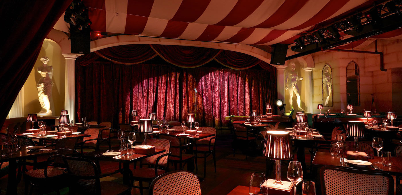 bunga bunga covent garden venue hire inception group