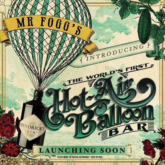 Mr Fogg's Hot Air Balloon Bar