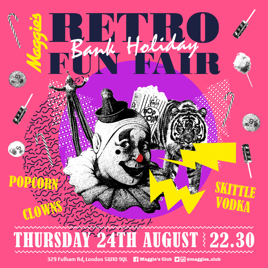 Retro Design Bank.Maggie S Bank Holiday Retro Funfair Maggie S The 80s Are Back