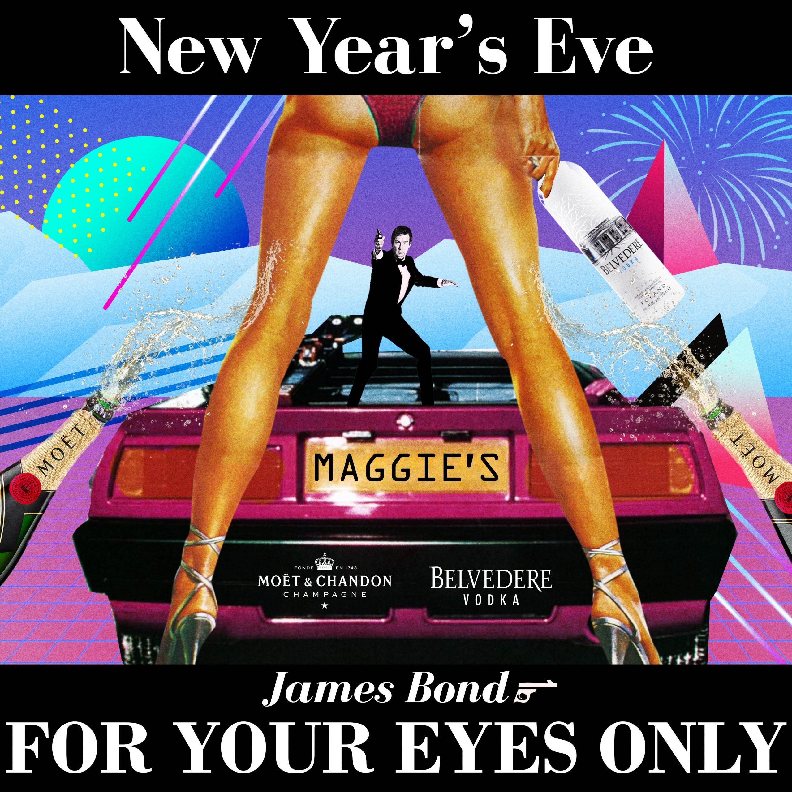 NYE James Bond – For Your Eyes Only